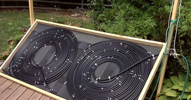 Bel Air Life: Weekend Project: Solar Pool Heater