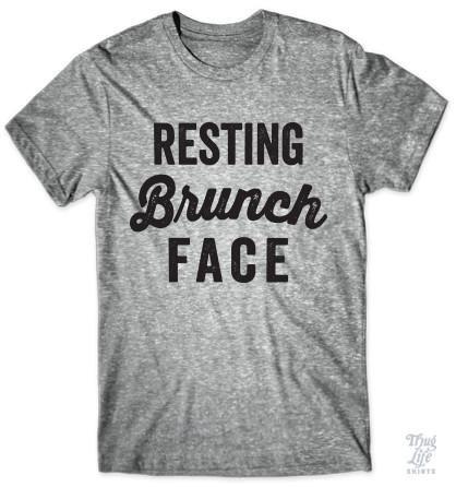 Resting brunch face!