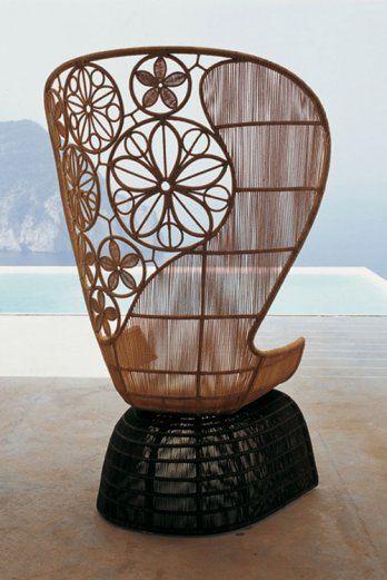 bamboo stoel
