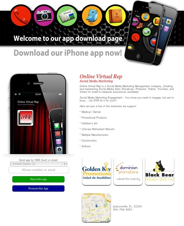 iphone app marketing rep now has a free iphone app social 1218