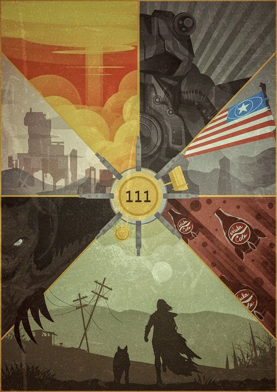 Fallout 4 poster by Lazare Gvimradze : gaming