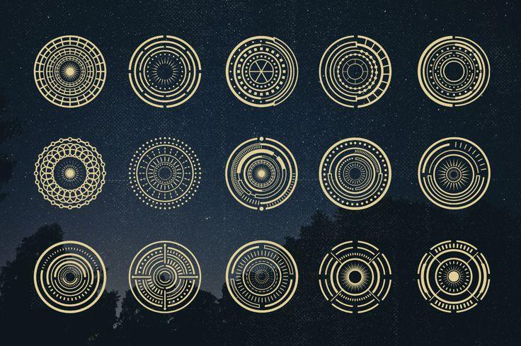 75 Circle Mandala by TSV Creative on Creative Market