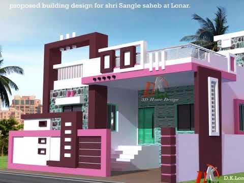 House Elevation Plans Hyderabad Ground Floor Home Elevations, Best House  Design   YouTube