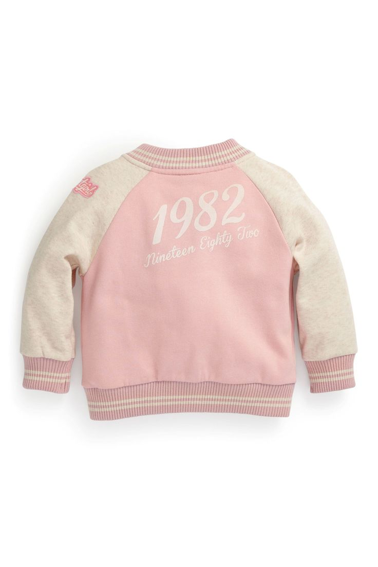Buy Pink Varsity Jacket (3mths-6yrs) from the Next UK online shop