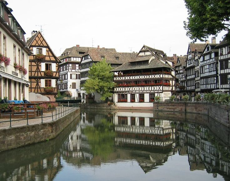 River tour through the Le Petit France area of Strasbourg.
