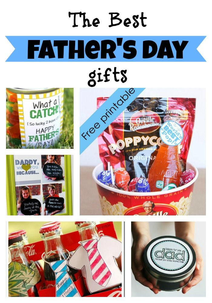Great ideas for handmade Fathers Day gifts!
