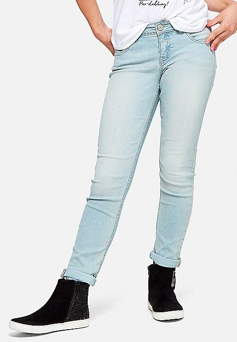 18c2fdf196b47 Relaxed Fit Jeans | Justice | Justice clothing in 2019 | Jeans ...