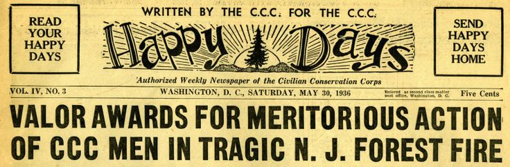 CCC Newspaper header --> Blog Header Inspiration