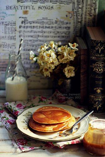 Cream Cheese Pancake