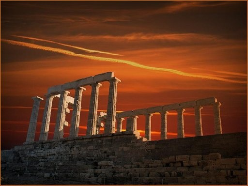 βικιπεδια: Athens Riviera, Sounion Greece, Greece Athens, Acropolis Athens, Capes Sounion, Beautiful Greece, Europe Greece, Beautiful Pictures, Poseidon Capes