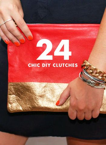Trend To Wear: 24 Chic DIY Clutches