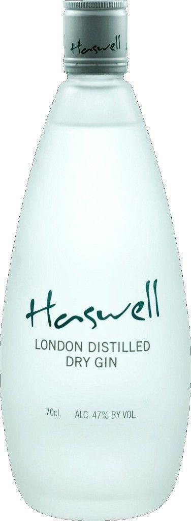 Gin von Haswell in der 0,7l Flasche mit 47 % Vol. Alc.