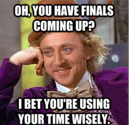 Imagen vía We Heart It http://weheartit.com/entry/150188491 #exam #finals #procrastination #student #time #collegeproblem