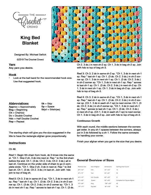 Rectangle Granny Afghans: All Sizes   Crochet   Crochet doilies