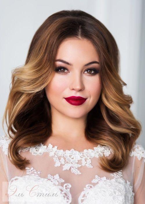 Featured Hairstyle:Elstile;www.elstile.ru; Wedding hairstyle idea