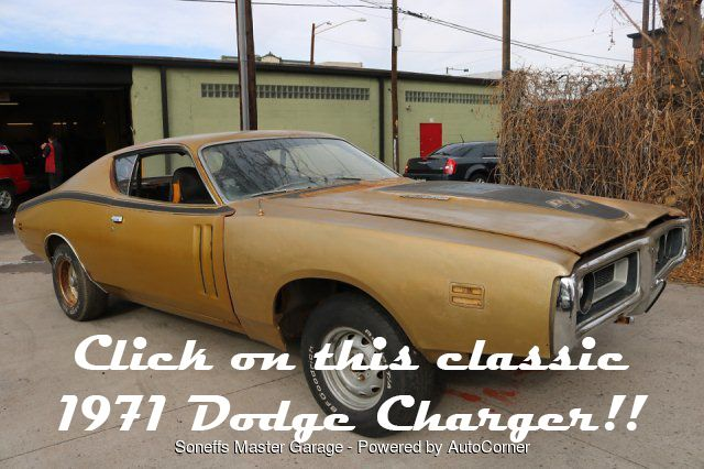 [FOR SALE] Classic 1971 Dodge Charger RT at #SoneffsMasterGarage for $13,500! #DodgeCharger #CarsForSale #ClassicCars