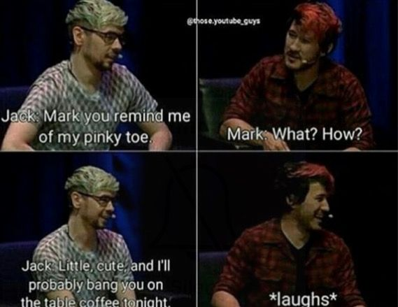 Jacksepticeye and Markiplier are my faves, they're so awesome