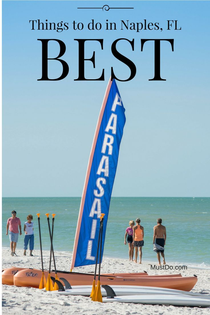 There are more than enough activities in Naples and Marco Island, Florida to fill any itinerary. Whether you choose a leisurely approach or an adventure packed one, you will love experiencing the Paradise Coast.