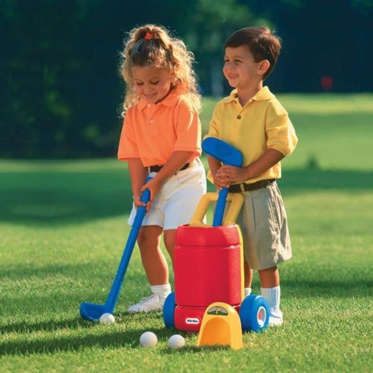 Junior Golf Set Kids Club Balls Putter Driver Bag Outdoor Activity Role Play Toy #JuniorGolfSet