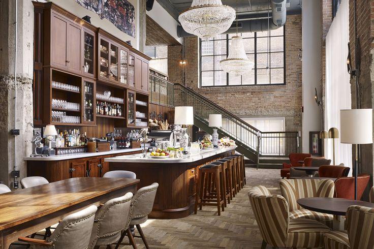 Uno de los restaurantes del Hotel Soho House Chicago. AD Espau00f1a, u00a9 D ...