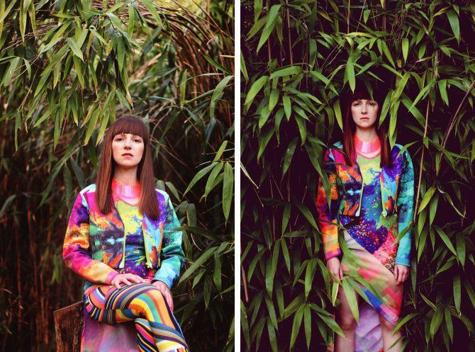 Dress & blazer: Daige - Photographer: Vajda Réka - Model: DJ Ren - Styling: Kocsis Lilla - Hair: Csajkovszky Tímea @ Circle Line Hair - Makeup: Szilágyi Diána