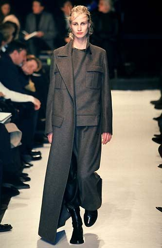 A look from the Ann Demeulemeester Fall/Winter 98.99 collection.