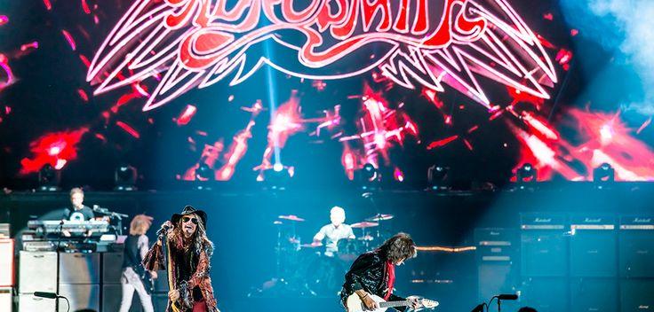 """Fechas, horarios, setlist, información sobre los artistas invitados. Todo lo que necesitas saber para ir bien preparado al próximo concierto de Aerosmith. Como ya todos sabemos, Aerosmith se encuentra en plena gira de """"despedida"""".   #Aerosmith #Alter Bridge #eclipse"""