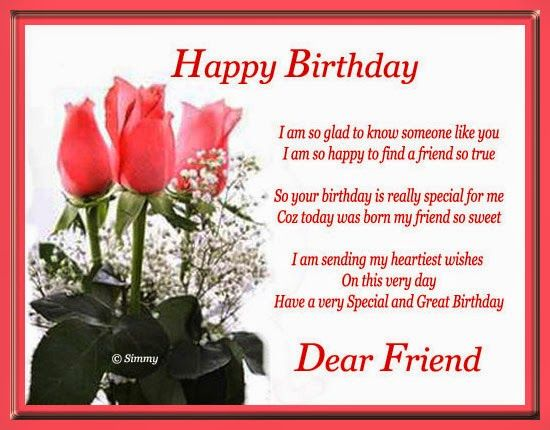 22 best happy birthday images images on pinterest happy birthday birthday wishes for friend greetings pictures wish guy happy dear best free home design idea inspiration bookmarktalkfo Images