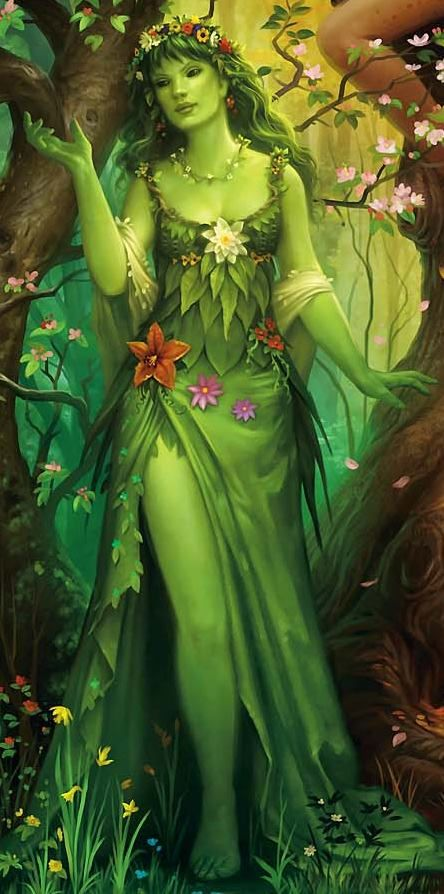 Fairy queen mythology pinterest Goddess of nature greek