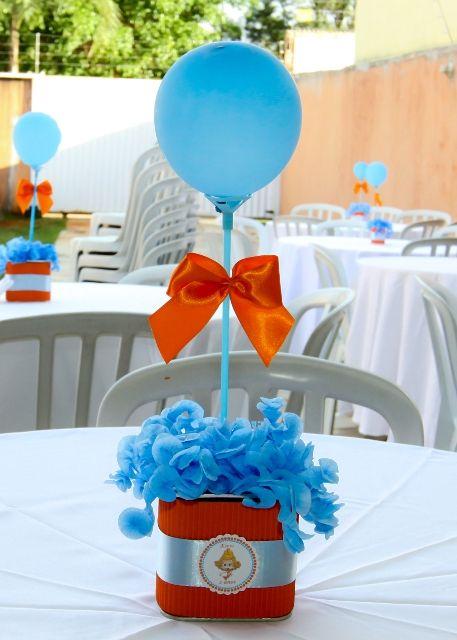 Muitas sugestões para a Decoração da Festa para o Dia das Mães   Selecionei algumas ideias para o centro de mesa usando balões   Basta voc...