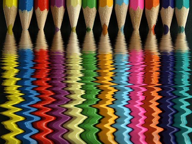 A vida é da cor que a gente pinta www.nowmaste.com.br