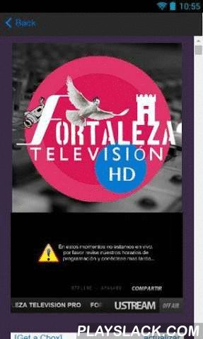 Fortaleza Stereo Radio And TV  Android App - playslack.com , We are a Christian radio station, Internet where you will find good programming, 24 hours a day, with divine protection for you. This new version of our APP has corrected several errors of the previous version. We inform all our fans that due to copyright had to remove the previous application root, so that those who had already installed the previous app should des install and install this new ... Enjoy!