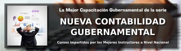 La Mejor Capacitación Gubernamental de la serie Nueva Contabilidad Gubernamental.