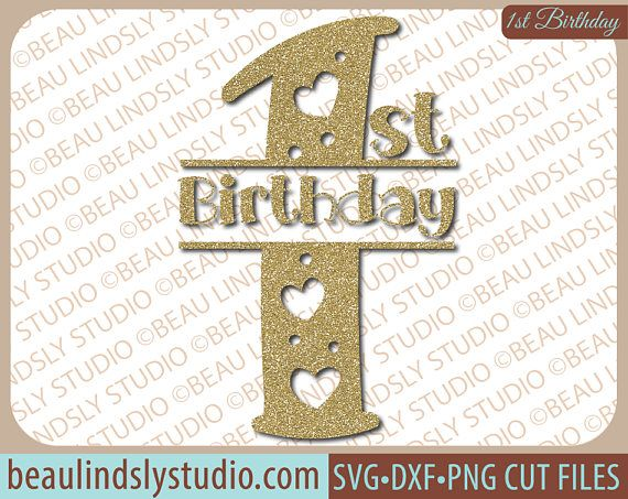 Girls 1st Birthday SVG File, Happy 1st Birthday SVG, Birthday Wishes SVG, Birthday Girl SVG File For Silhouette, SVG File For Cricut project, DXF File, PNG Image File Yay! The big day has arrived! Youre one! Happy 1st Birthday! This cute design features fun lettering with lots of