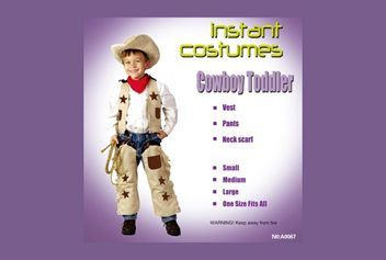 Cowboy costume for Kid