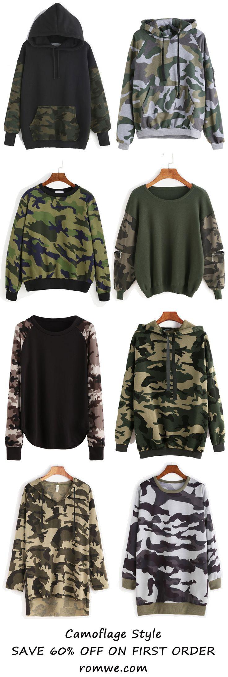 Camoflage Style - romwe.com