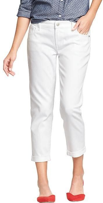 Old navy skinny white jeans