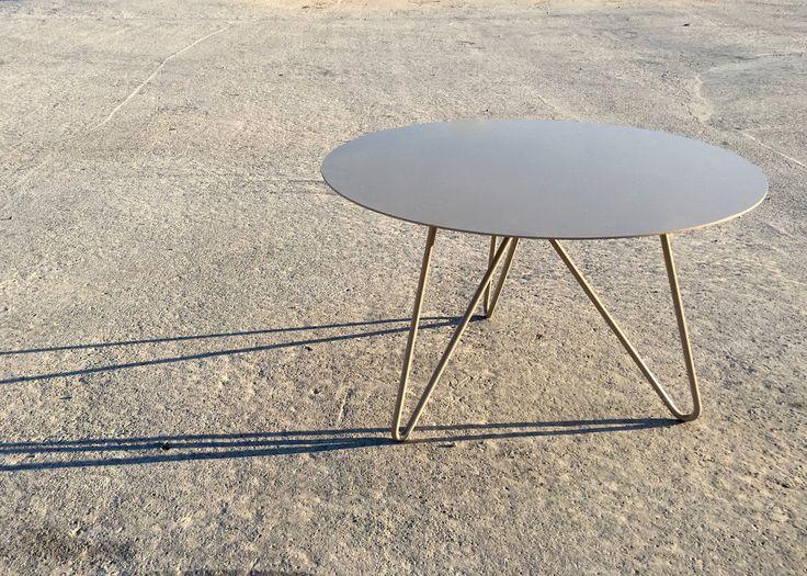 Metallic Coffee Table