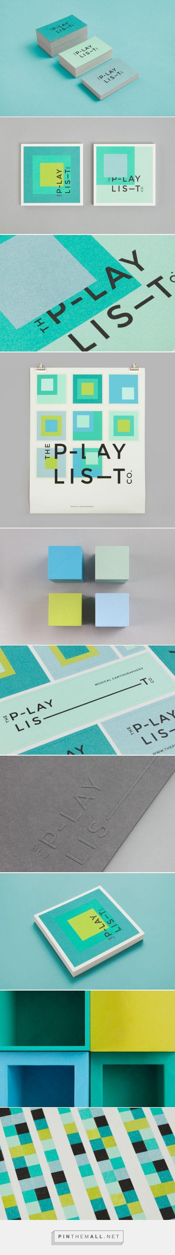 The Playlist Co. Branding on Behance | Fivestar Branding – Design and Branding Agency & Inspiration Gallery