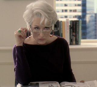 Film Experience Blog: Streep Nom #14: Miranda Priestley Forever