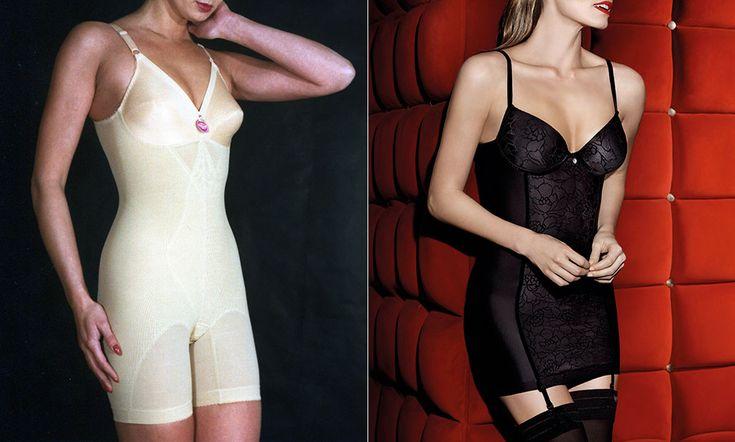 La evolución de la lencería femenina