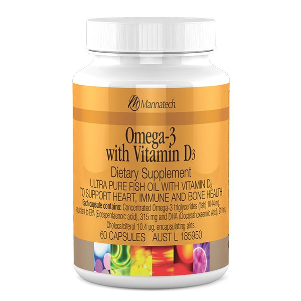 Omega-3 with Vitamin D3 | Mannatech Despite the abundance of sunshine across the Australasian region, almost one-third of adults over 25 years of age have a Vitamin D deficiency, and nearly 73% have levels below the optimal need for health. http://au.mannatech.com/real-products/health/omega-3-vitamins-d3/