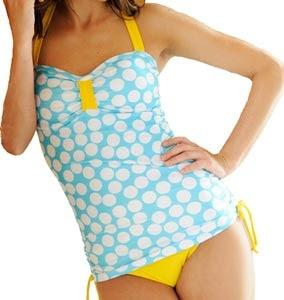 Lime Ricki Swimwear~  cute tankini. C: