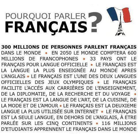 Pourquoi parler français?