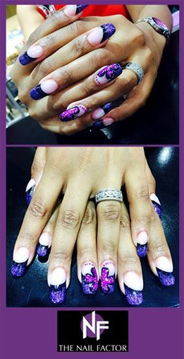 Nail Art Gellish Done at The Nail Factor Pavilion! #NailFactorMoments #gelpolish  #nails #cool #nail #gelart #gelnails #nailart #instanails #gel  #nailgasm  #todaysnails  #manicure  #nailswag #nailpolish