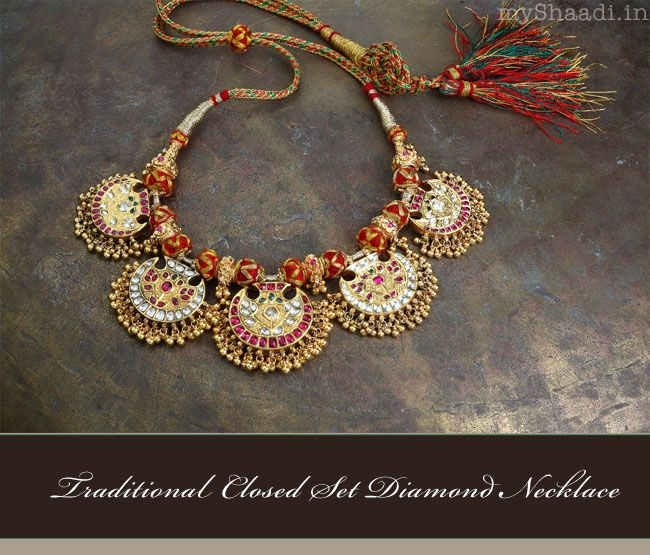 Classic Bridal Jewellery for your Wedding| Myshaadi.in#diamond jewellery#wedding jewellery#india#bridal jewellery#trousseau