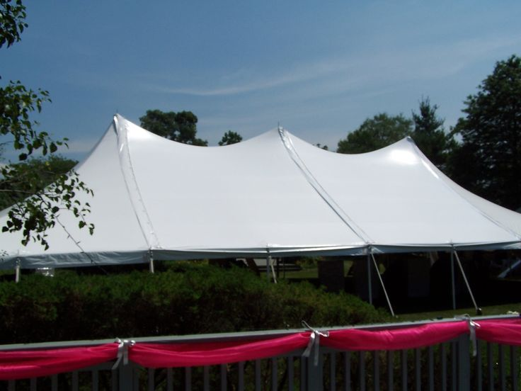 80 tent peak rope pole tents rent forward high peak 40 x 80 tent high