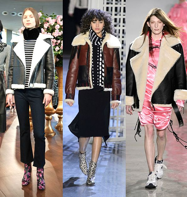 The Top 12 New York Fashion Week Fall 2016 Trends   Shearling coats   Check out the full F/W 2016 Trend Report...   @stylecaster