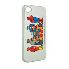 Carcasa iPhone 4 4 Cállate la Boca - Superhéroes  AR$ 75,18