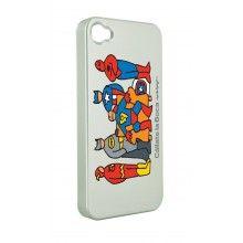 Carcasa iPhone 4 4 Cállate la Boca - Superhéroes  Bs.F. 109,25